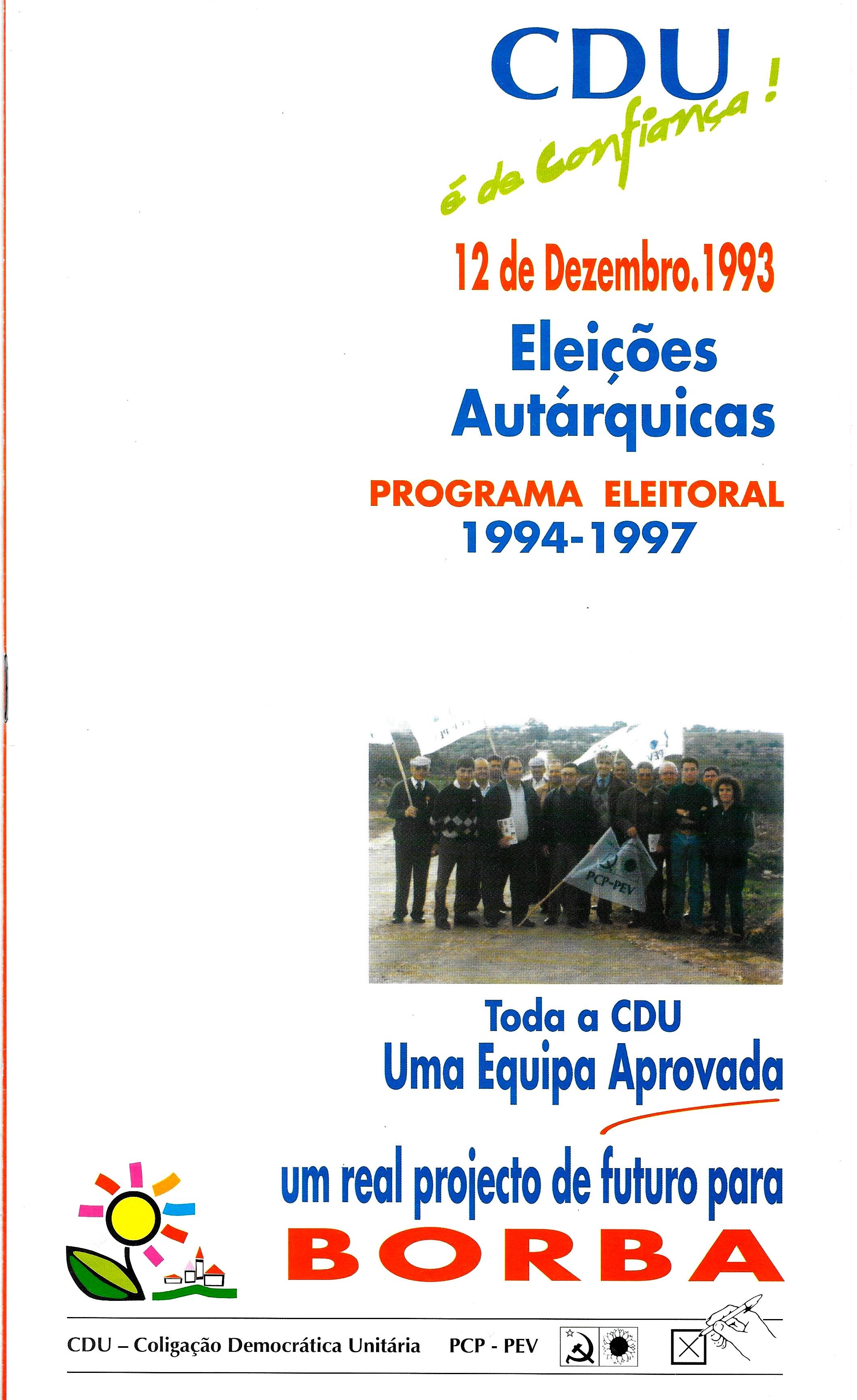 BORBA CDU 1993 1