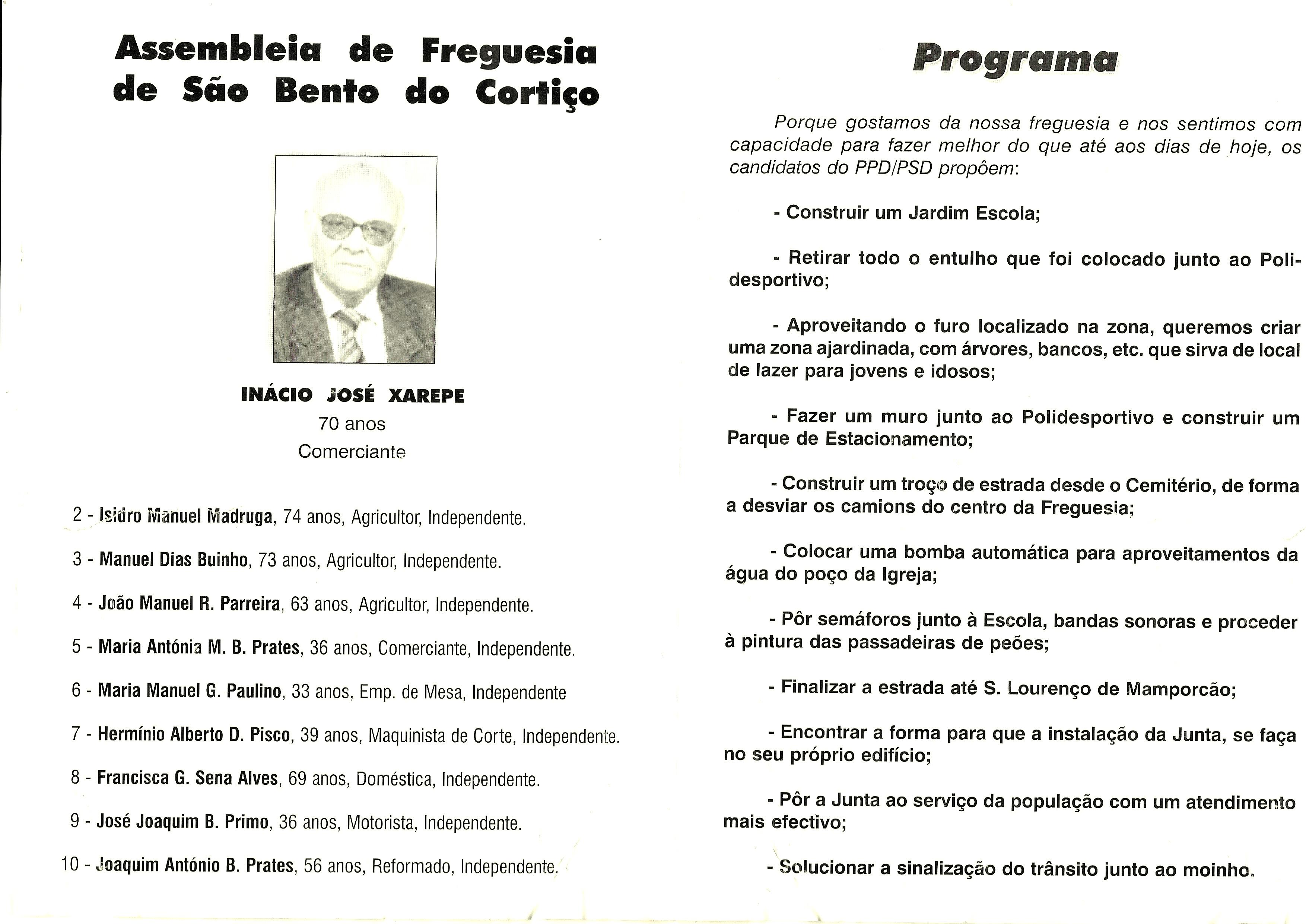 ESTREMOZ PSD 2001 2
