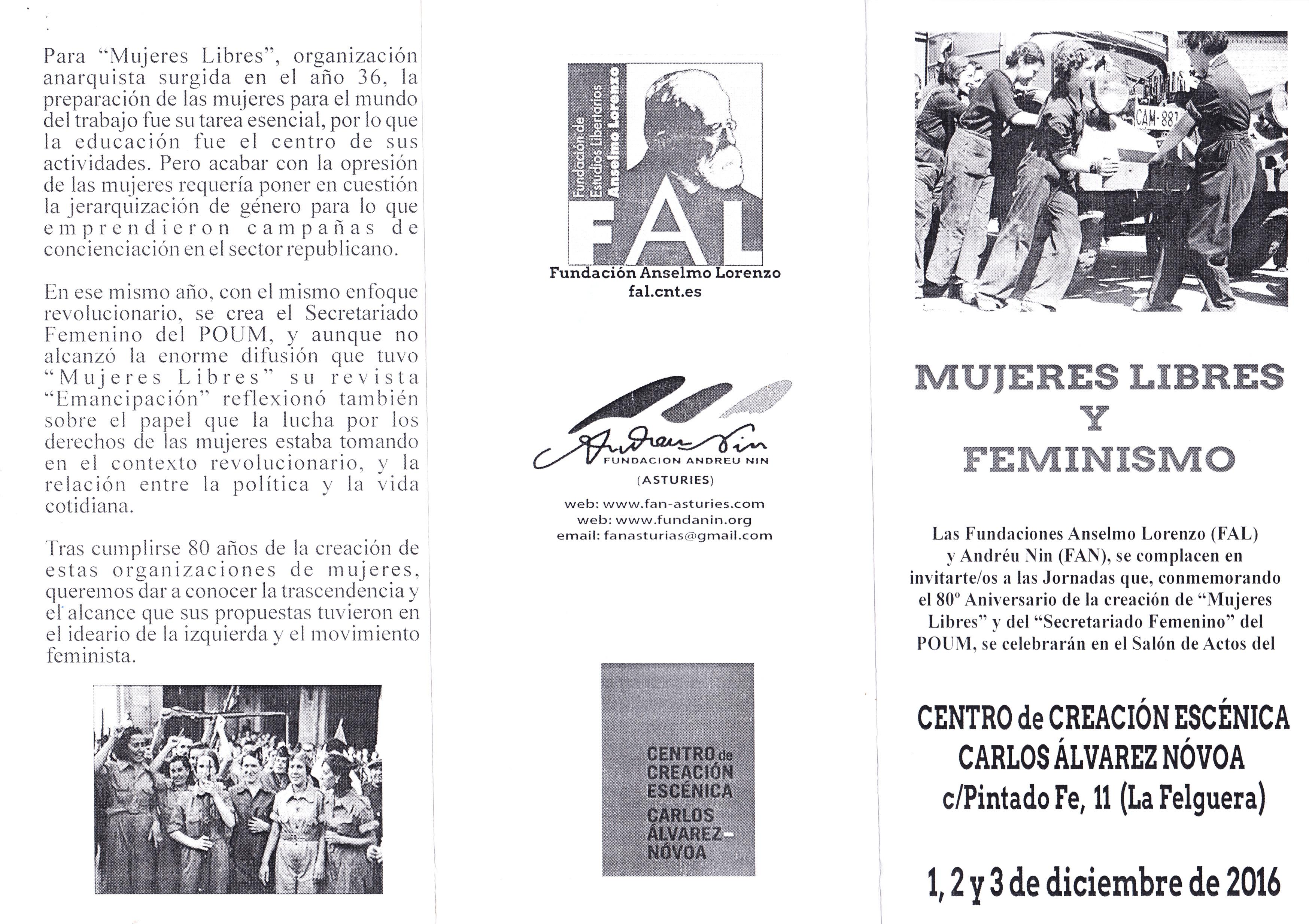 8834fd6366026 ESPANHA – ASTÚRIAS – FUNDACIÓN ANDREU NIN (ASTURIES) – EPHEMERA –  Biblioteca e arquivo de José Pacheco Pereira