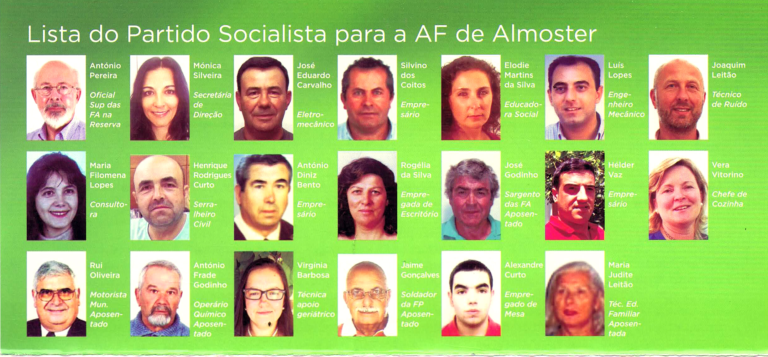 Elei Es Aut Rquicas De 2017 Santar M Almoster Ps Ephemera