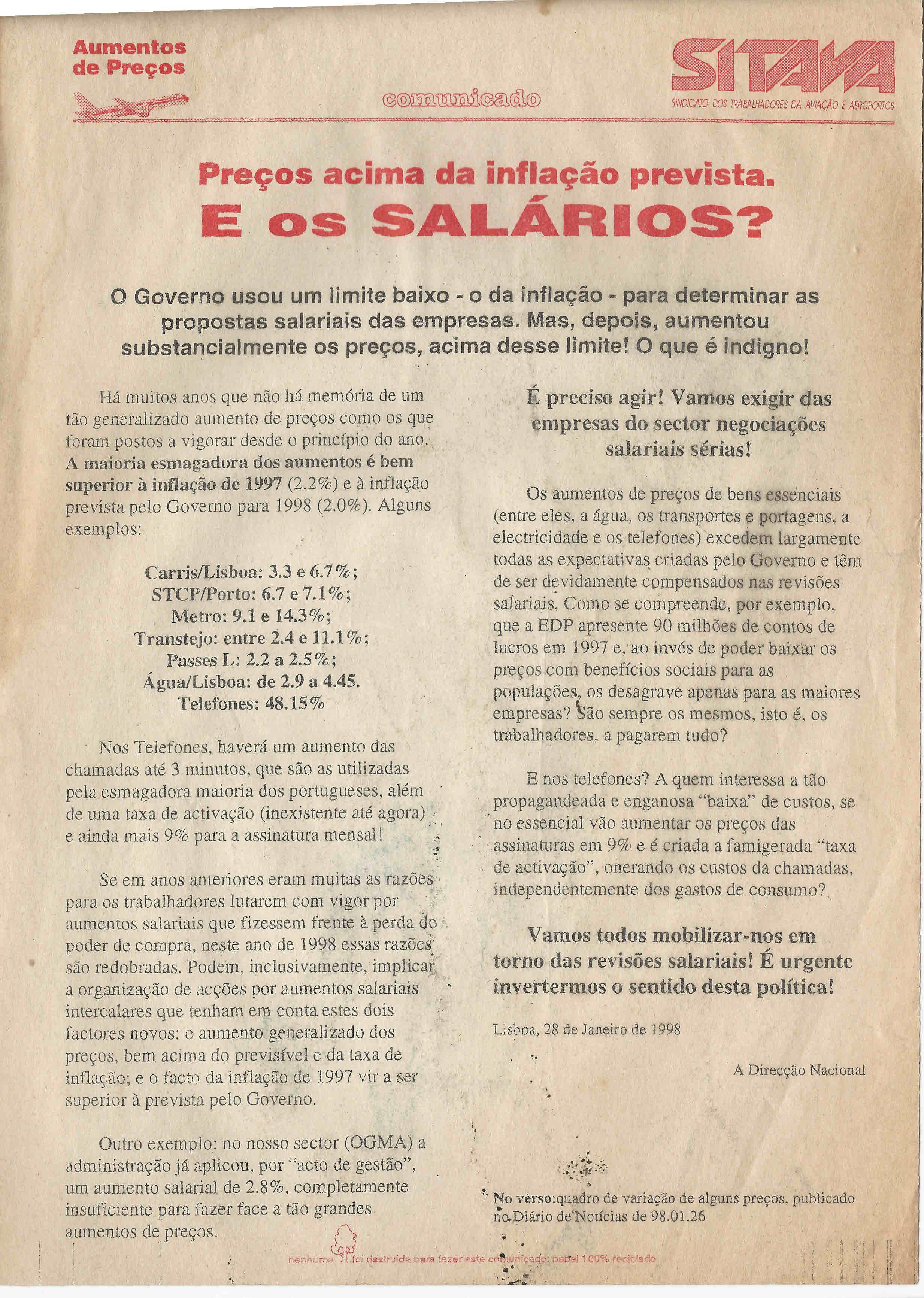 SITAVA – 1998 – EPHEMERA – Biblioteca e arquivo de José Pacheco ... 8a4cb6ca072ac