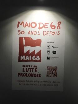 b3b247a0ff1 MAIO DE 68 – 50 ANOS DEPOIS -INAUGURAÇÃO (BARREIRO