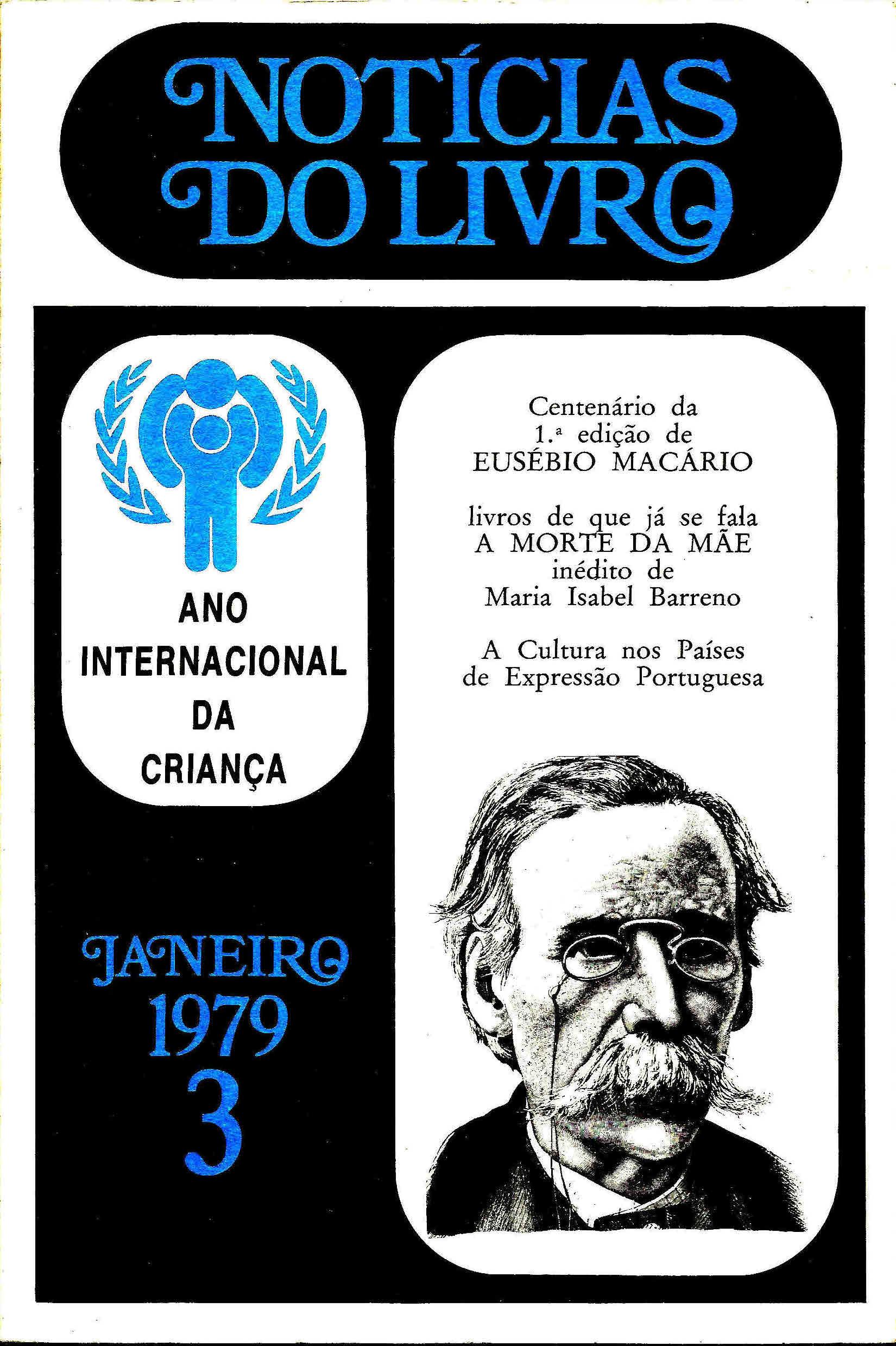Notícias do Livro Janeiro 1979 n 3 capa