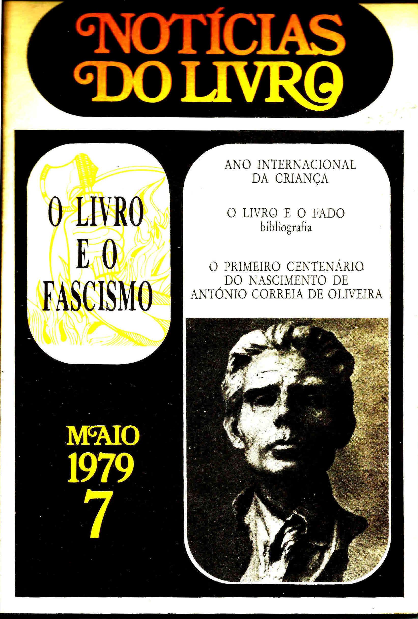 Notícias do Livro Maio 1979 n 7 capa