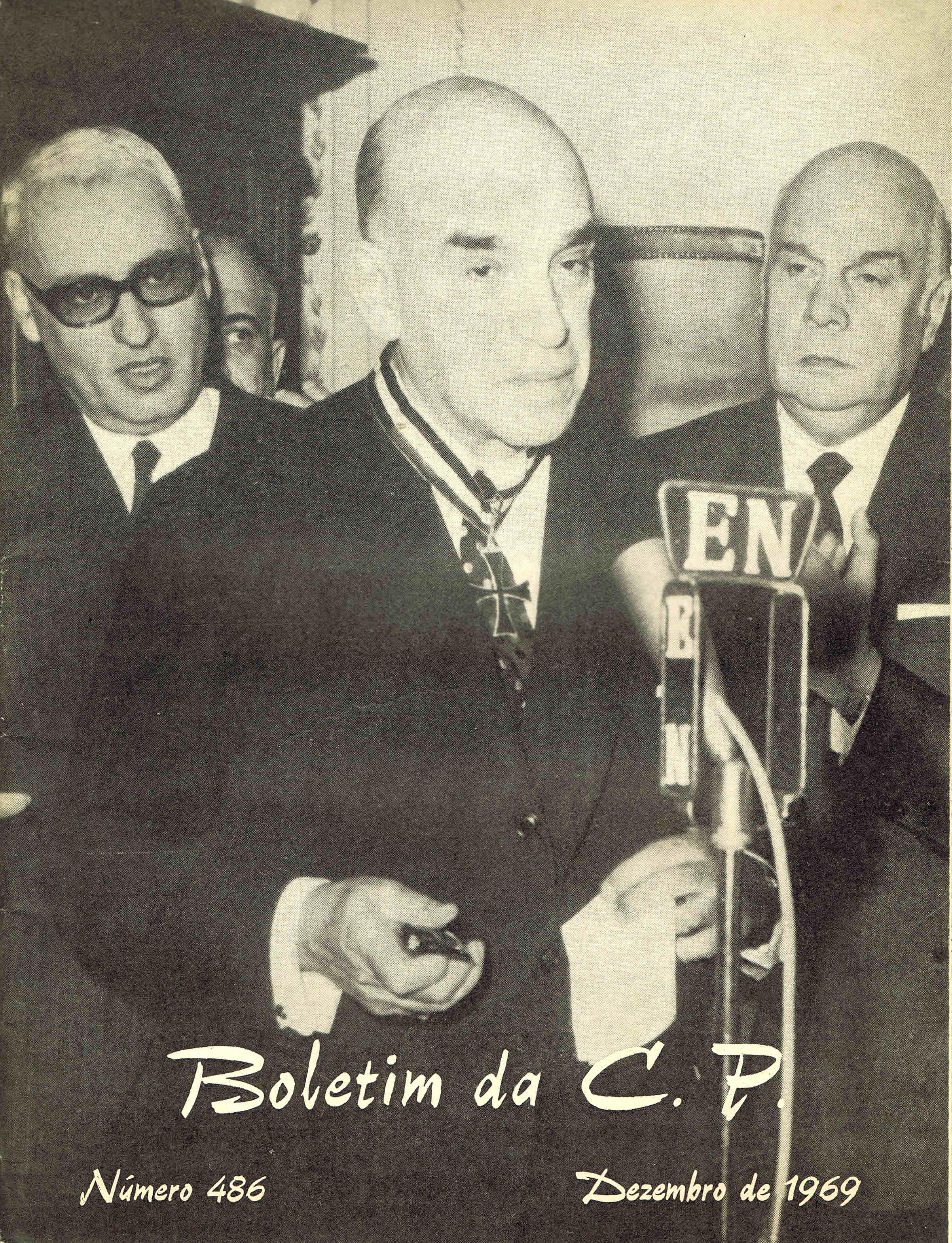 boletim da cp nº 486 dezembro de 1969