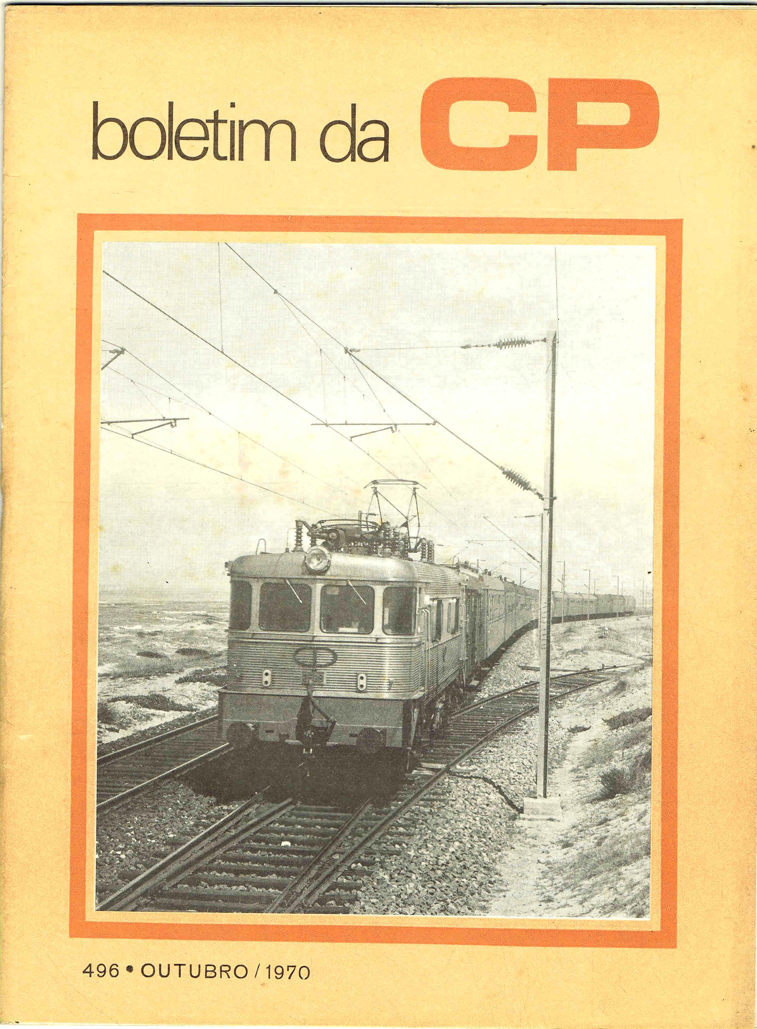 boletim da cp nº 496 outubro 1970