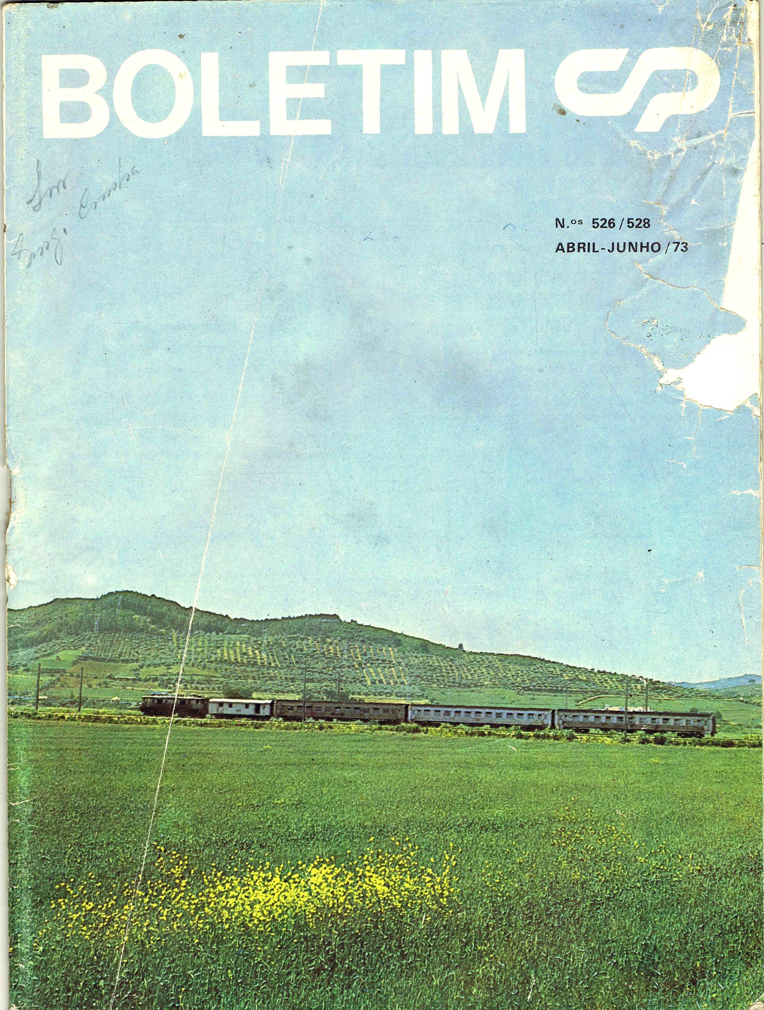 boletim da cp nº 526 528 abril junho 1973