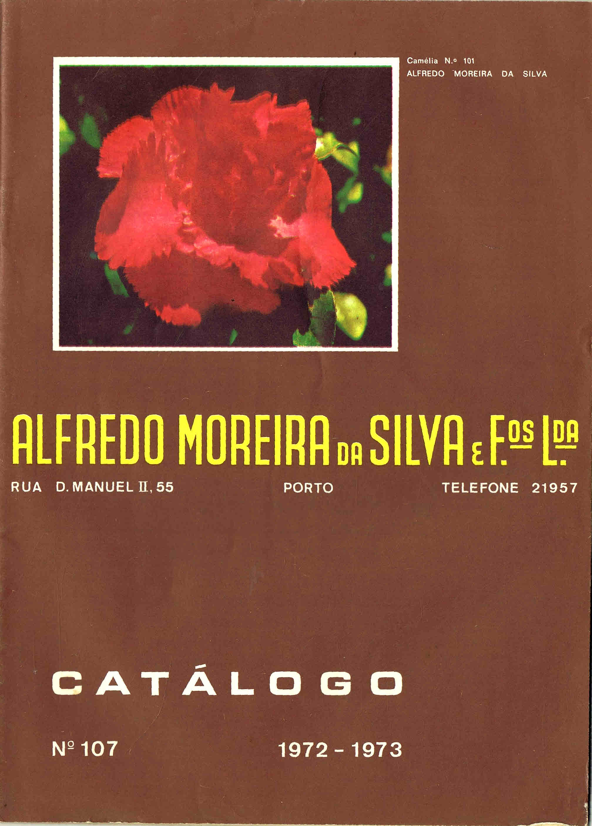 CATALOGO HORTICOLA MOREIRA DA SILVA & Fos Lda nº 107 1972-1973