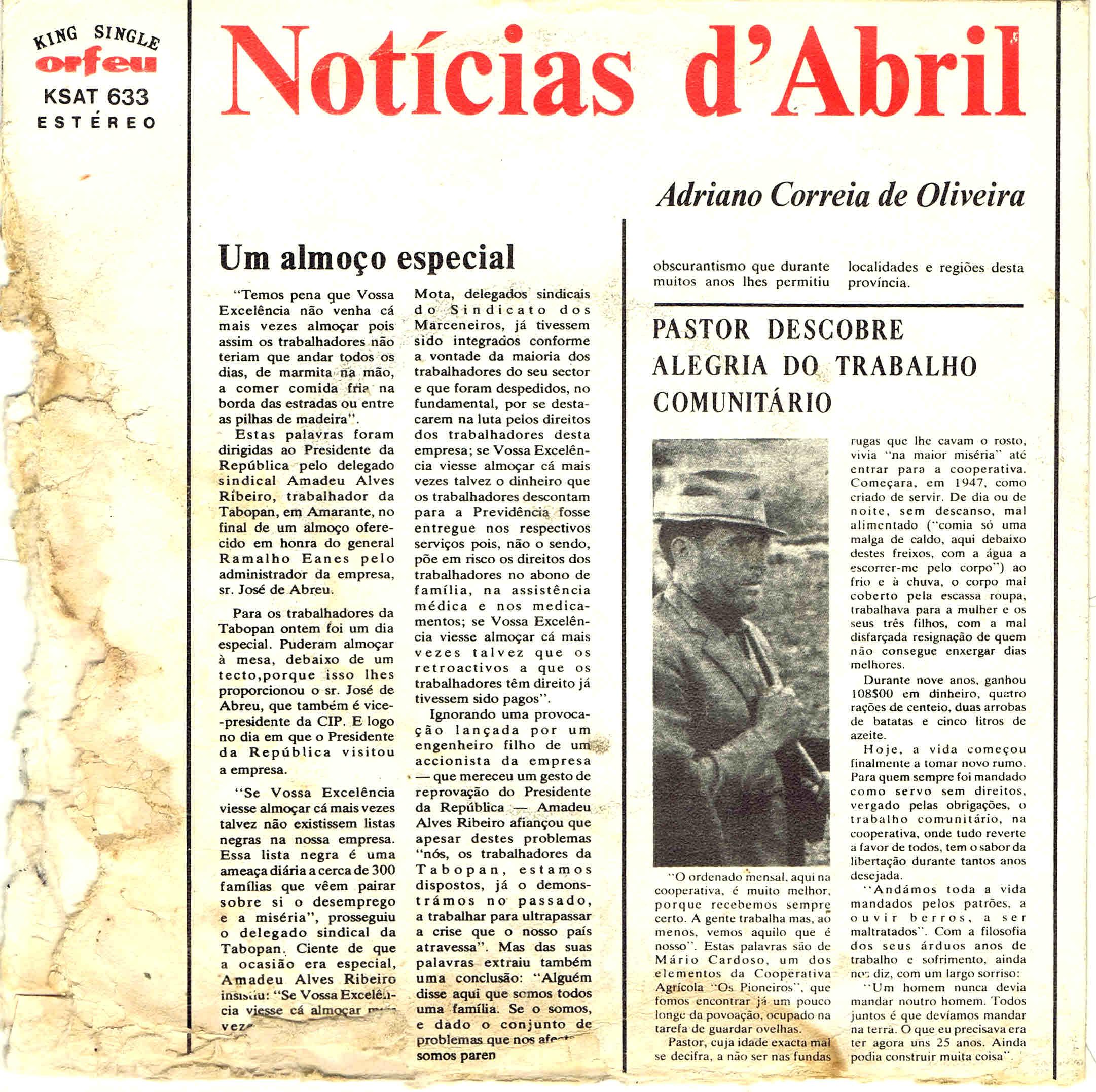 adriano correia de oliveira noticias de abril fr
