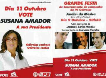 SUSANA AMADOR ODIVELAS 2009