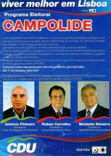 C D U LISBOA  2009