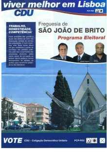 CDU, Lisboa, São João de Brito1
