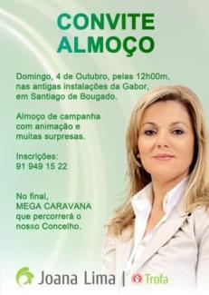 Convite Almoco, Trofa, PS