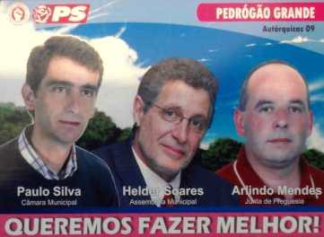 Pedrogão Grande - PS - Pedrogão Grande - OUTDOOR 01