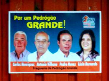 Pedrogão Grande - PSD - Pedrogão Grande - Cartaz 01