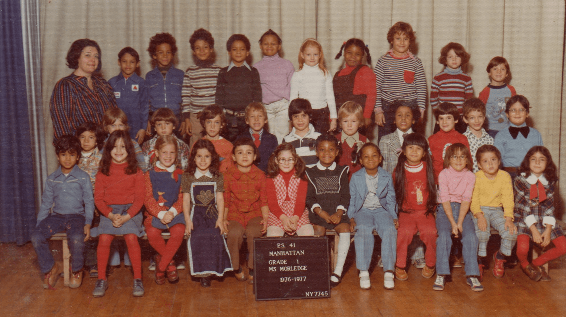 Smile, Kids, It's Class Picture Time  Ephemeral New York