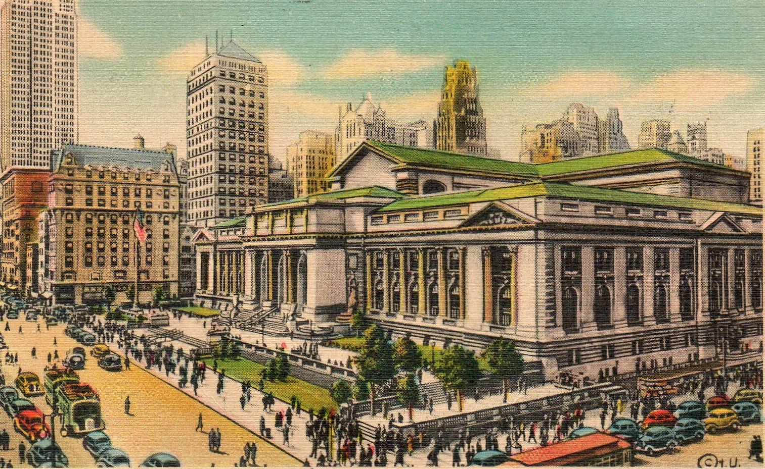 New York Public Library Ephemeral New York