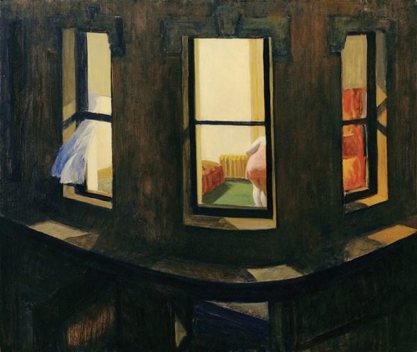 By Edward Hopper Night Windows