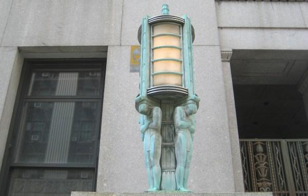 Art Deco City Buildings Ephemeral York