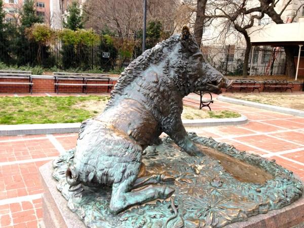 Animal Sculptures York City Ephemeral