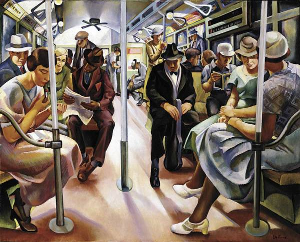 Lily Furedi Subway Art by American