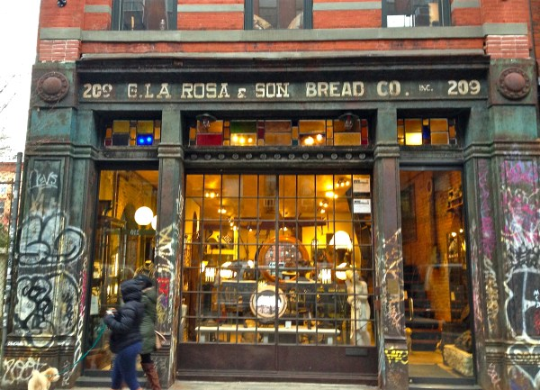 Long-shuttered Bakery Haunts Elizabeth Street Ephemeral York