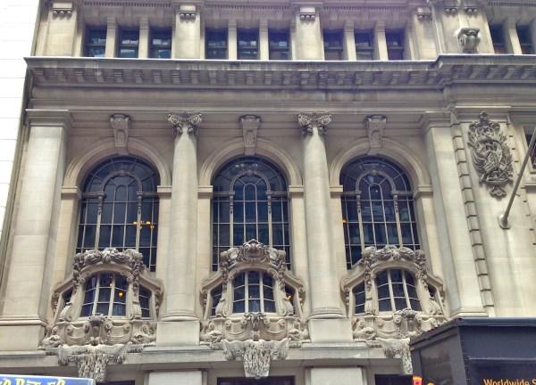 Beaux-arts Buildings York City Ephemeral