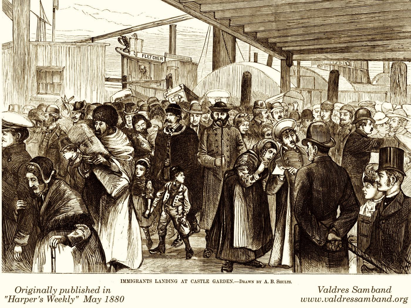 New York City Immigrants 19th Century