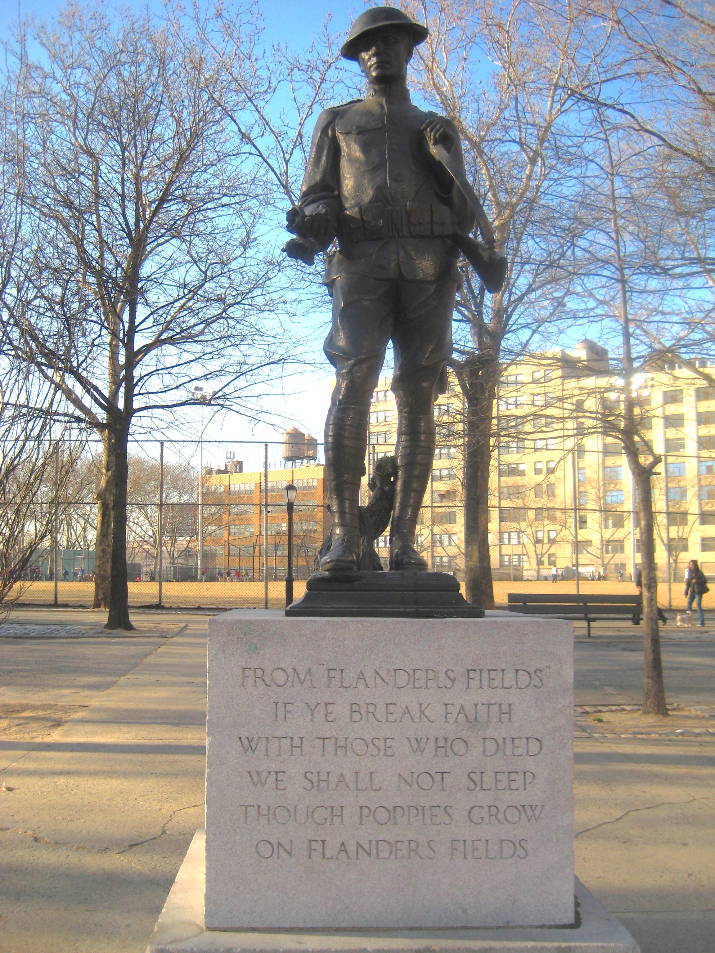 War memorials  Ephemeral New York