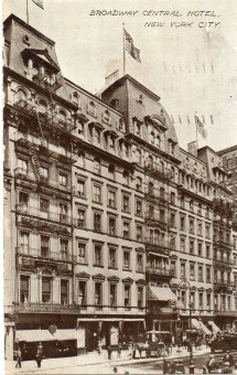 Collapse Of Broadway Grandest Hotel Ephemeral York