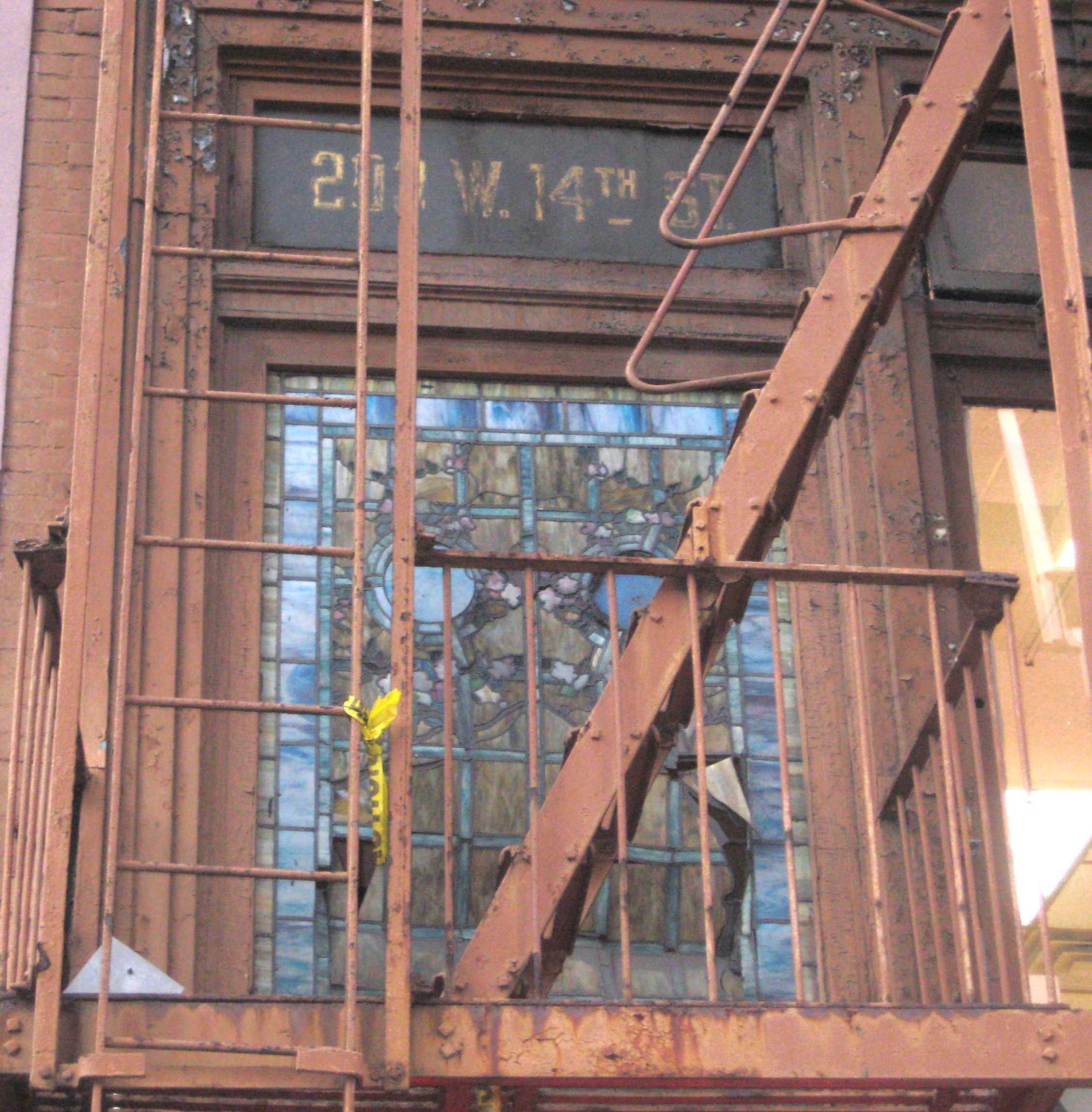 A Stained-glass Surprise On West 14th Street