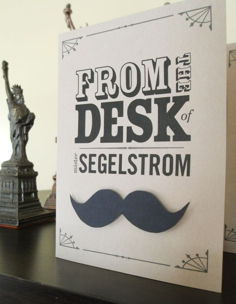 "Dad's Desk – ""From the desk of…"""