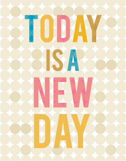 Monday Inspiration – New Day