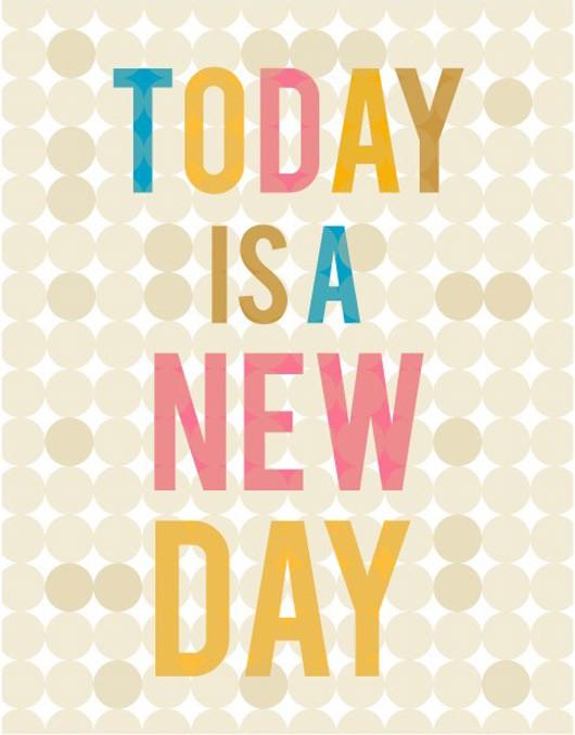 Monday Inspiration – New Day