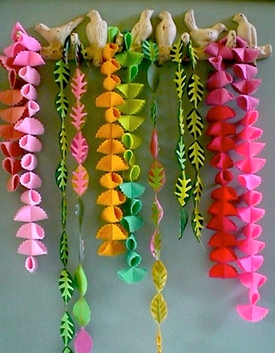 ~ Collections ~ Felt Garlands