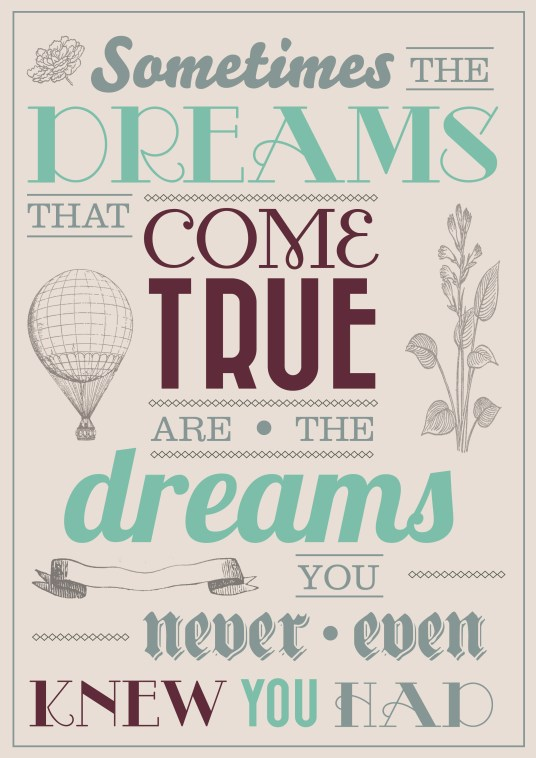 Monday Inspiration ~ Surprise, here's that dream you didn't know you were looking for!