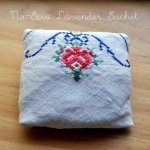 Diy No Sew Lavender Sachet Using A Vintage Cloth Napkin Epheriell Designs