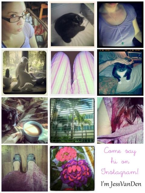 Instagrammin' – FINALLY!