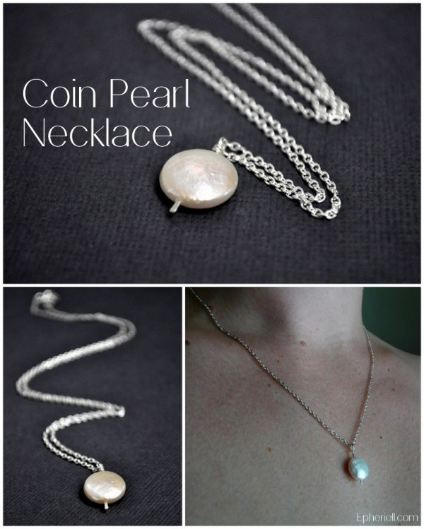Coin Pearl Necklace ~ Epheriell Weekly Special 11/2/13