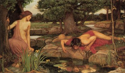 Echo and Narcissus-John William Waterhouse