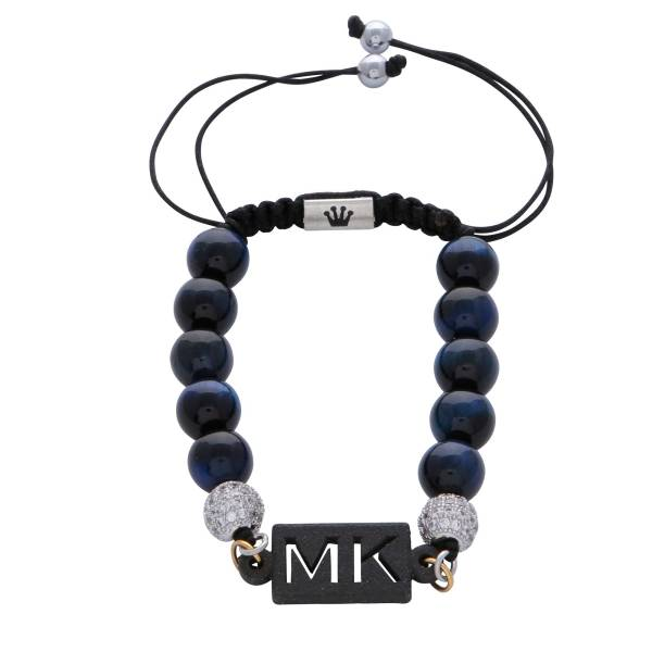 personalised-custom-initials-blue-tiger-eye-natural-stone-beaded-bracelet-for-men-him
