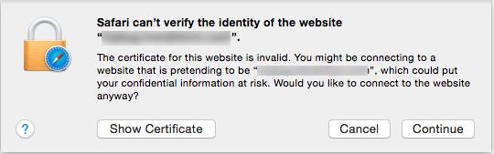 [Mac/Chrome] 將 https 網站加入 Chrome 的信任清單 | EPH 的程式日記