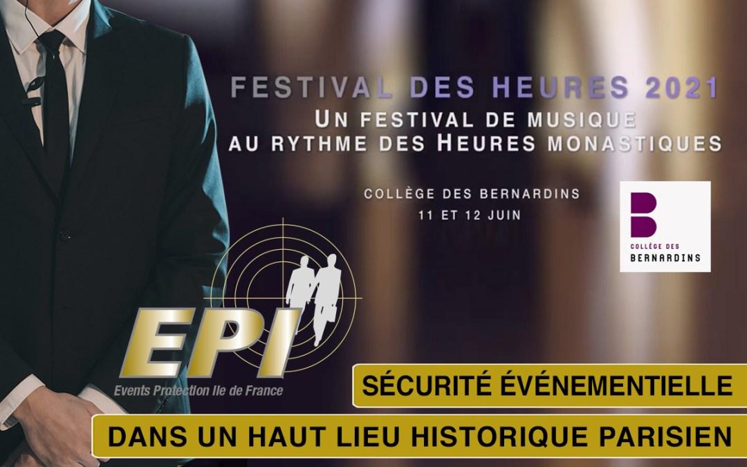 Le Festival des Heures au Collège des Bernardins