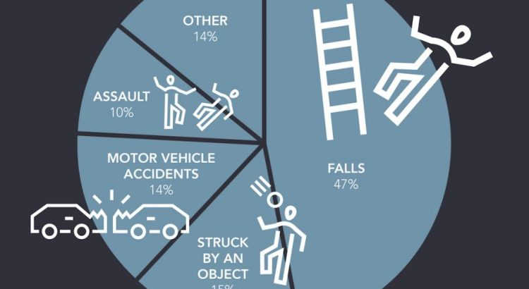 Top Causes For Traumatic Brain Injuries Infographic