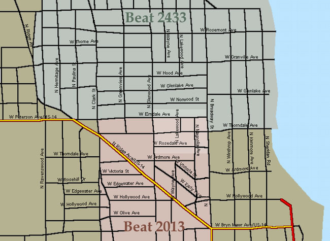 Chicago Police Districts