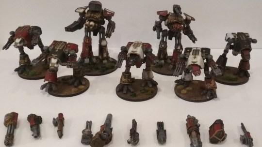 Mi legión titánica para Epic y Adeptus Titanicus I