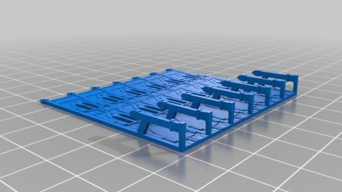 Ruinas modulares para imprimir en 3D