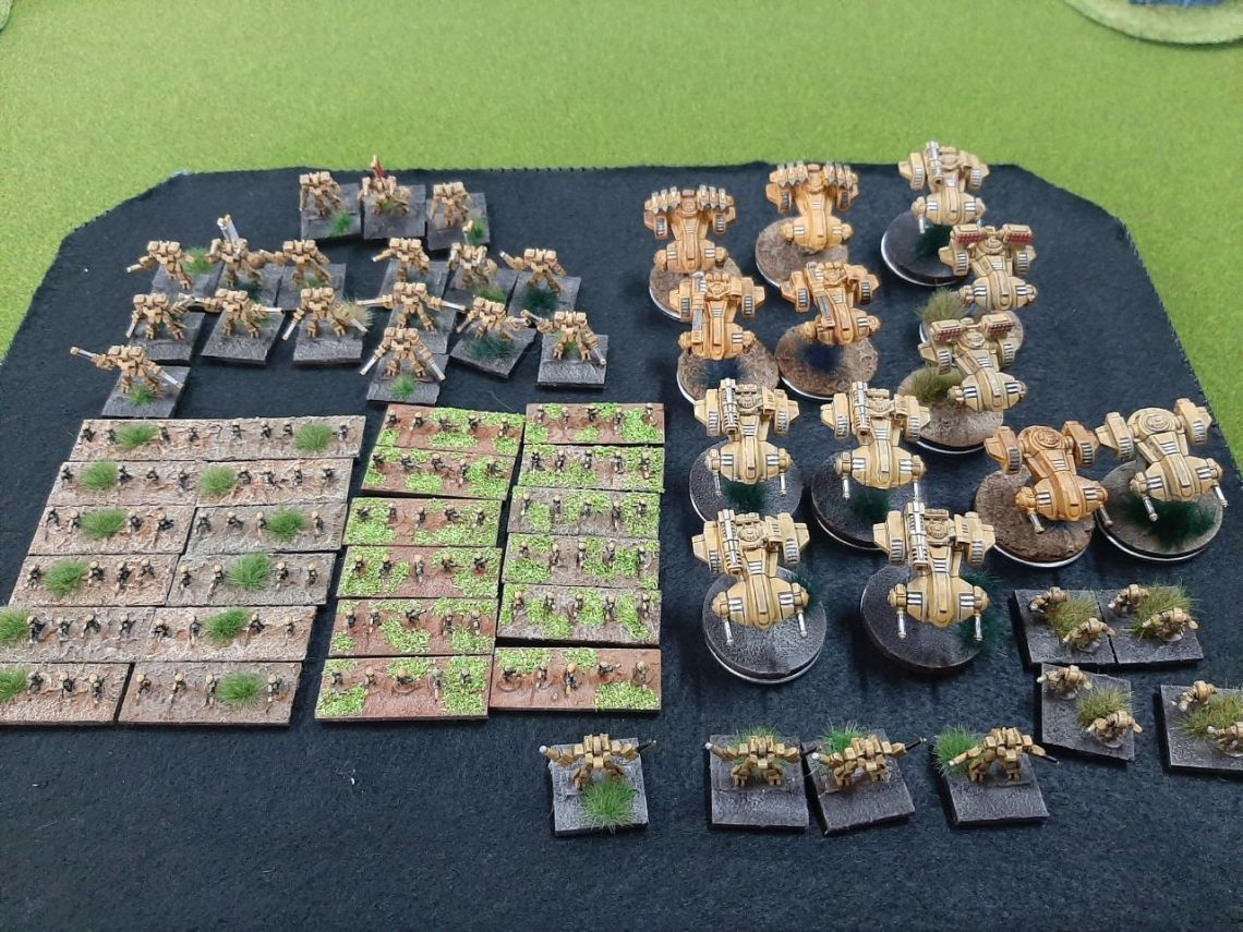 epic tau army Mallorca Epic Gold Assault 03