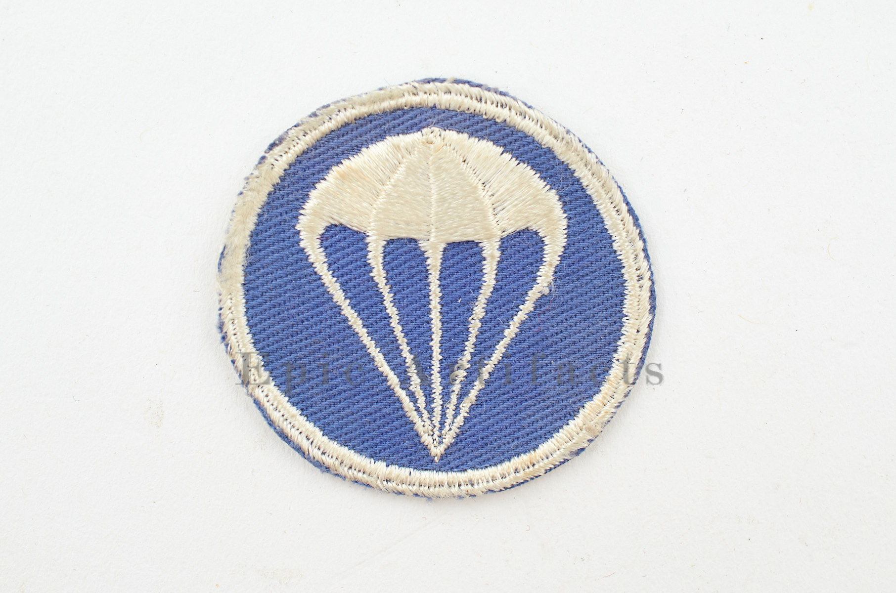 Us Army Airborne Infantry Parachute Cap Patch Original Wwii