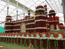 Floral Red Fort